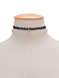 Da donna Altro Personalizzato Originale Di tendenza Con perline Europeo Multistrato Fatto a Mano Doppio strato Euramerican Stile semplice