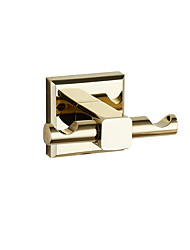 Robe Hooks Modern Brass gold