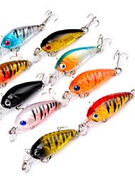 economico -9 pc Esca Trota arcobaleno g Oncia mm pollice,Plastica Pesca di mare