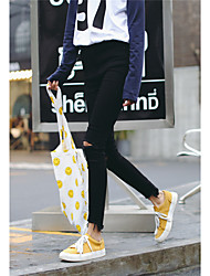 Sign new Korean version of the black hole was thin waist jeans pencil pants female pantyhose