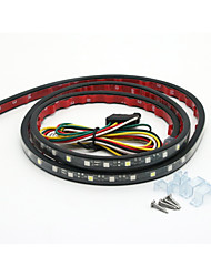 60 Trunk Tailgate Red White LED Strip Light Bar for Backup Brake Turn Signal Reverse Light for Trucks SUV Jeep