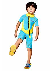Per uomo Bambini 2mm Muta intera Asciugatura rapida Design anatomico Traspirante Spandez Chinlon Scafandro Manica corta Scafandri-Nuoto