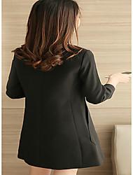 primavera vestido de sinal 2017 novas mulheres&# 39; s versão coreana de manga comprida fina era magro preta da saia longa seção