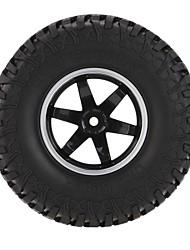 4Pcs AUSTAR AX-3020C 1.9 Inch 103mm 1/10 Scale Tires with Wheel Rim for 1/10 D90 SCX10 CC01 RC Rock Crawler