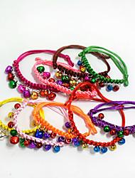 Chat Chien Cravate/Noeud Papillon Vêtements pour Chien Hiver Eté Printemps/Automne Dessin-Animé Mode Halloween Noël Nouvel An Arc-en-ciel
