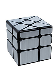 Rubik's Cube Smooth Speed Cube Mirror Cube Transparent Sticker Adjustable spring Magic Cube Square Gift