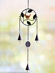Home decoration hanging birds fengling metal wind chimes furnishing articles