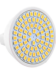 7W GU5.3(MR16) LED Spotlight MR16 72 SMD 2835 500-700 lm Warm White Cold White Natural White 2800-3200/4000-4500/6000-6500 K Decorative