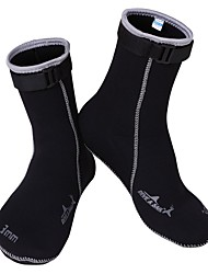 cheap -Water Socks 3mm Neoprene for Adults - High Strength, Softness Diving / Surfing / Snorkeling