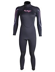 WINMAX Mulheres 3mm Macacão de Mergulho Longo Roupas de mergulhoProva-de-Água Térmico/Quente Secagem Rápida Isolado Respirável Compressão