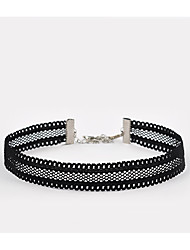 cheap -Women's Others Unique Design Tattoo Style Basic Fashion Punk Choker Necklace Jewelry Lace Choker Necklace , Wedding Party Special