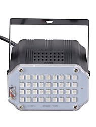 cheap -U'king Mini Sound Control 36Pcs RGB LEDs Room Strobe Spotlight Stage Lighting for Disco Party DJ Light Home Entertainment Music Show Projector