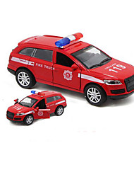 cheap -Toy Cars Model Car Police car Toys Sounds Simulation Car Metal Alloy Plastic Alloy Metal 1 Pieces Children's Boys' Gift