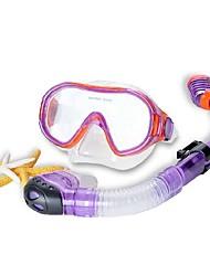 Máscaras de mergulho Impermeável Protecção Mergulho e Snorkeling Neopreno Fibra de Vidro