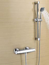 abordables -Robinet de douche - Moderne Chrome Douche seulement Soupape en laiton