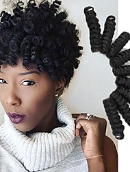 cheap -Crochet Bouncy Curl Twist Braids kinky curly Hair Extensions Kanekalon Hair Braids Bouncy Curl braiding
