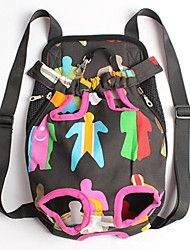 cheap -Cat Dog Carrier & Travel Backpack Front Backpack Pet Baskets Portable Cute Rainbow For Pets
