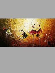 Peint à la main Abstrait Nature morte Horizontale,Style européen Classique Un Panneau Toile Peinture à l'huile Hang-peint For Décoration