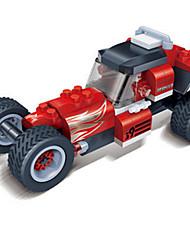 Stavební bloky Auta na zadní natahování Autíčka Závodní auto Hračky Auto 105 Pieces Dárek