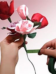 Недорогие -25meter бумага гирлянда лента искусственный цветок фиксированной принадлежность для украшения свадьбы поделок венка Флорес Гарленд