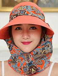 billige -Dame Ferie Solhat - Polyester Trykt mønster