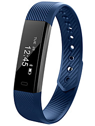 cheap -D115 Fitness Tracker Smart Wristband Bluetooth Step Counter Fitness Bracelet Watch Sleep Tracker Call Reminder Smartband