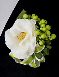 cheap -Wedding Flowers Bouquets Boutonnieres Others Artificial Flower Wedding Party / Evening Material Lace Satin 0-20cm