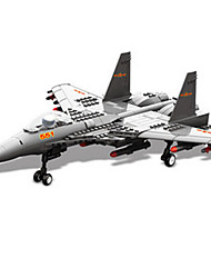 Building Blocks Toys Aircraft Fighter Military 281 Pieces Boys Boys' Gift