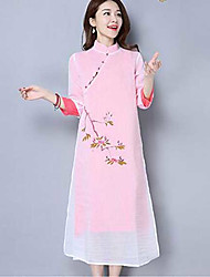 2017 spring and summer pear tea service painted Chinese improved Hanfu dress female