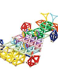 economico -Magnete giocattolo Bastoncini magnetici Magneti giocattolo Costruzioni Palline Stick magica Mattoncini magnetici Costruzioni con magneti