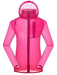 Women's Hiking Jacket Thermal / Warm Ultraviolet Resistant Breathable Lightweight Top for Camping / Hiking Hunting Backcountry Spring