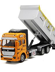 Недорогие -Самосвал Игрушечные грузовики и строительная техника / Игрушечные машинки 1: 160 Металлические / пластик 1 pcs Детские Игрушки Подарок