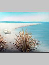 Недорогие -Ручная роспись пейзаж масляной живописи на холсте современная абстрактная картина настенного рисунка для домашнего украшения, готовая повесить