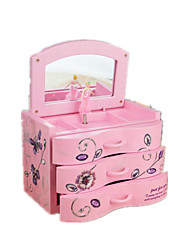 cheap -Music Box Music Classic & Timeless Plastic Blue Pink