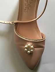 economico -accento decorativo in plastica da donna vacanza matrimonio casual per le scarpe
