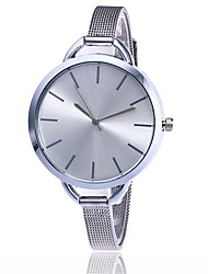 cheap -Women's Wrist Watch Japanese Casual Watch Alloy Band Charm / Casual / Fashion Silver / Gold