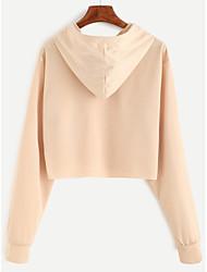 2017 sweat-shirts à capuche beige cordon de serrage