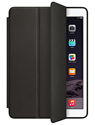 cheap -Case For Apple iPad Mini 4 iPad Mini 3/2/1 iPad 4/3/2 iPad Air 2 iPad Air with Stand Auto Sleep / Wake Flip Origami Full Body Cases Solid