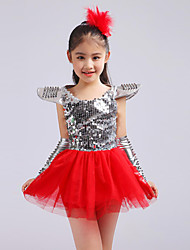Shall We Jazz Dresses Kid Performance Tulle Sequins 4 Pieces