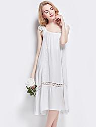 cheap -Women's Lace Lingerie Nightwear - Peplum, Solid Colored