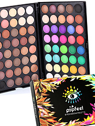 cheap -80 Colors Professional Eye Shadow Eyeshadow Palette Dry Matte&Glitter Smoky&Colorful Eyeshadow Powder Daily Party Makeup Cosmetic Palette Set