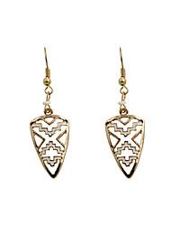 Women's Drop Earrings Fashion Euramerican Alloy Geometric Triangle Shape Jewelry For Wedding Party Daily Casual Sports