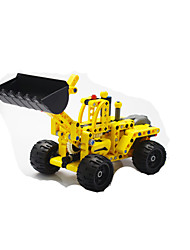 cheap -Toy Cars Building Blocks Educational Toy Excavator Toys Eagle Excavating Machinery Children's Kids Pieces