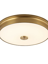 LightMyself 32CM(12.59'') LED 18W  Flush Mount Ceiling Lamp Warm and White Color Modern/Classic Rustic Bronze Feature for LED Metal Living Room