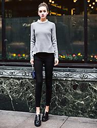 2016 Outono novas calças casuais pés lápis calças leggings desgaste exterior calças compridas finos