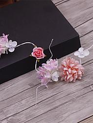 Fasce d'ottone d'imitazione del tessuto della perla-cerimonia nuziale delle occasioni speciale fasce casuali 1 parte