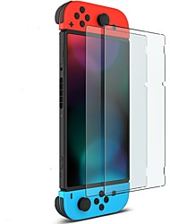 cheap -Miimall 2-Pack Nano Polymer Technology HD Clear Tempered Glass Screen Protector for Nintendo Switch 2017