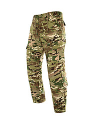 Недорогие -Камуфляжные брюки для охоты Муж. Жен. Универсальные Дышащий Удобный камуфляж Нижняя часть для Охота
