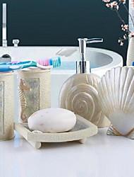 cheap -Bathroom Accessory Set Resin /Mediterranean