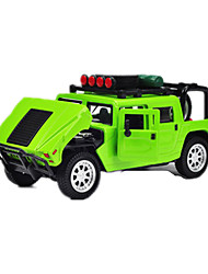 cheap -Toy Cars Race Car Toys Pull Back Vehicles Music & Light Car ABS Metal Pieces Gift